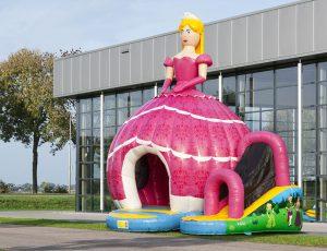 Hüpfburg Center Sternberg- Diskofun Prinzessin